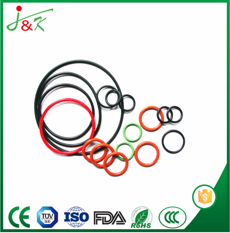 EPDM FKM Silicone Rubber O-Ring with Yellow Green