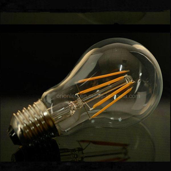 Filament LED Bulb Light 4W 6W 8W Lamp B22 E27 A60 LED Filament Bulb