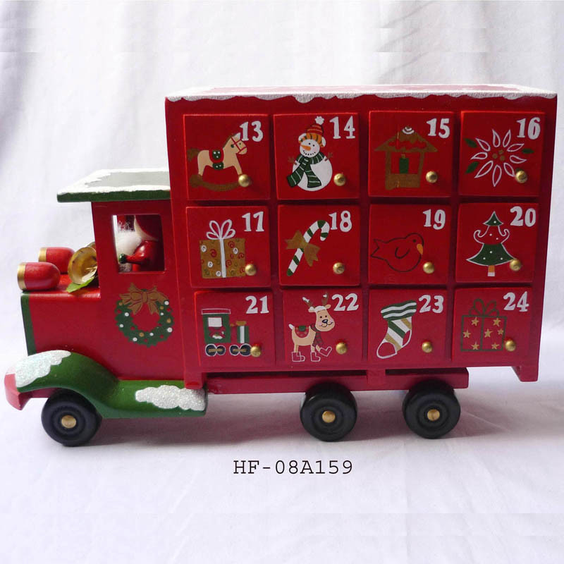 ... Christmas Wooden Advent Calendar - China Advent Calendar, Wooden Train