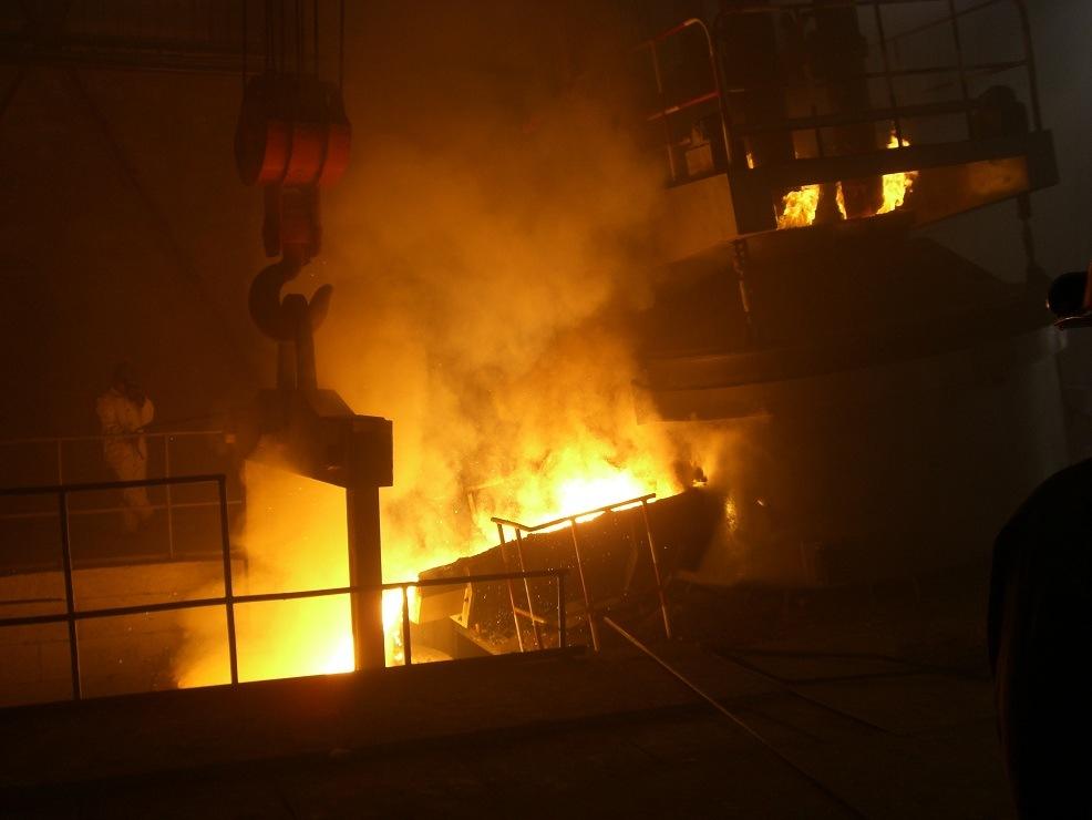 Submerged Arc Furnace Ferroalloys Smelter Ferrochrome Ferrosilicon Ferromanganese