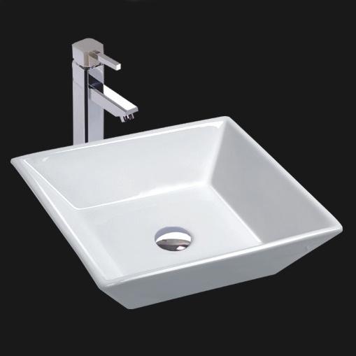 Unique Porcelain Bathroom Vessel Sink (6046)