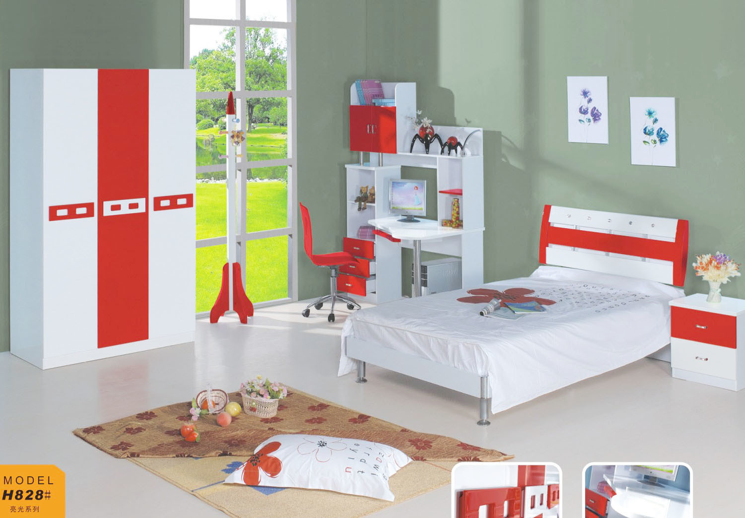 china children bedroom set jfh 828 china modern