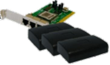 Multimedia PC Station/1 PCI 3 Stations (FOX-X300)