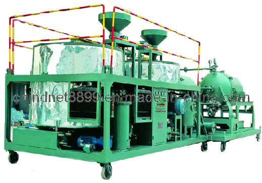 China Ueo Used Engine Oil Recycling Plant Waste Engine Oil Recycling Oil Regeneration Oil