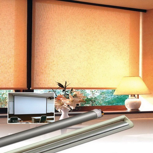 Bintronic motorized roller blinds bt mrs china for Motorized roller shades price