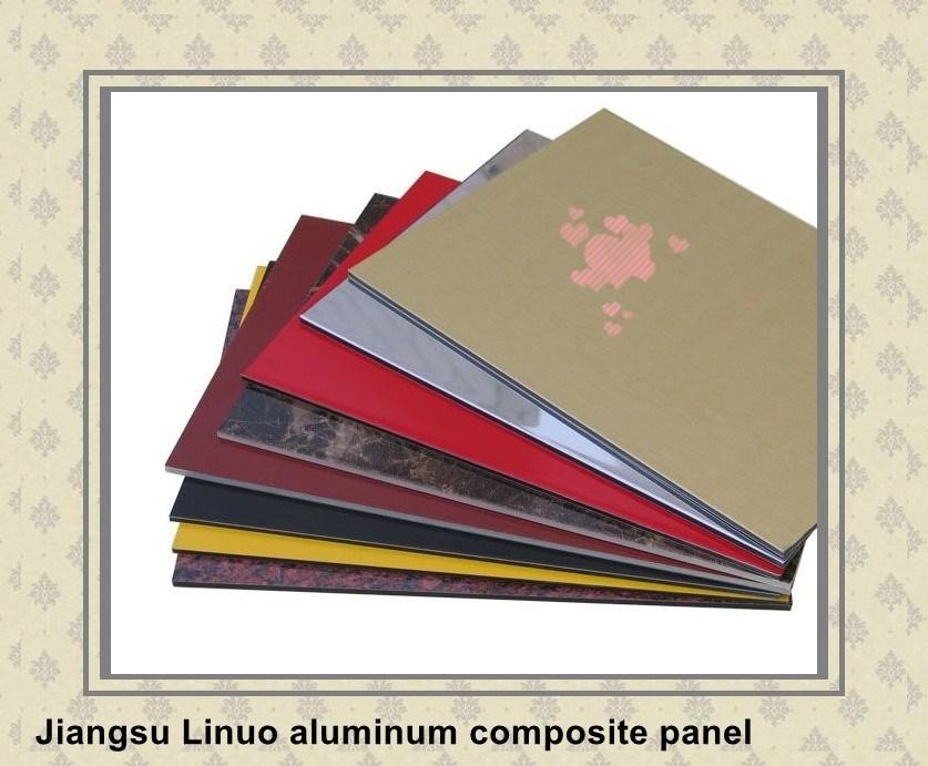 Fireproof Composite Panel : China fireproof aluminum composite plastic panel