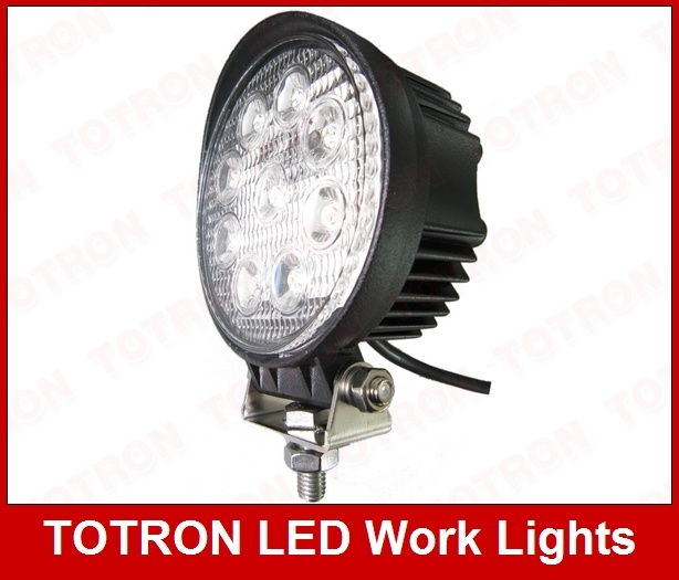 27W Round LED Work Light, Working Lamp
