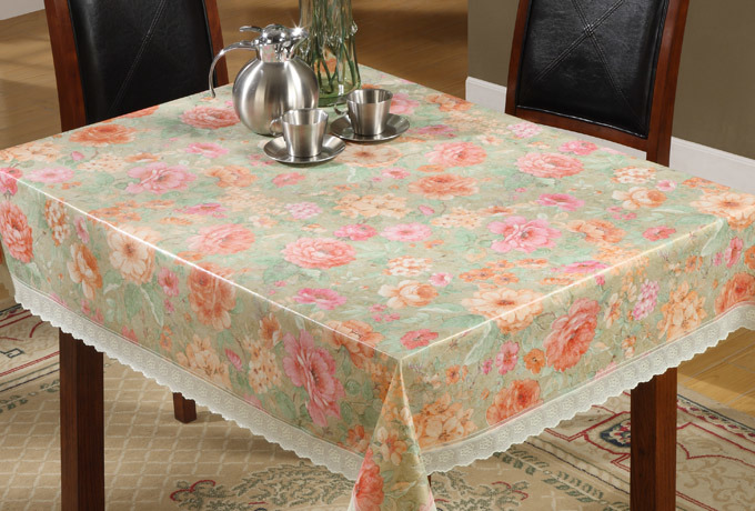 problème de projections d'eau  PVC-Non-Woven-Flower-Design-Vinyl-Tablecloth
