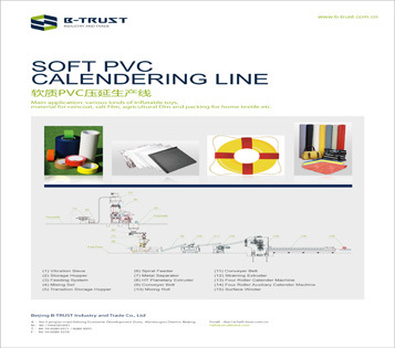 PVC Lamination Sheet Calendering Line