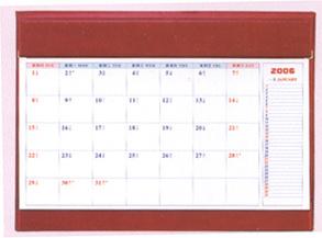 Desk Blotter Calendar Art Deco Great Gatsby - Desk blotter calendar