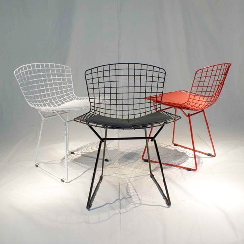 China Bertoia Wire Chair China Bertoia Chair Navy Chair