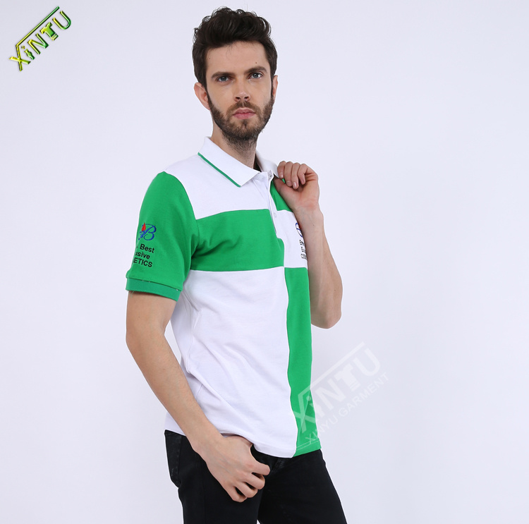 Wholesale New Fashion Short Sleeve Man′s Polo Shirt