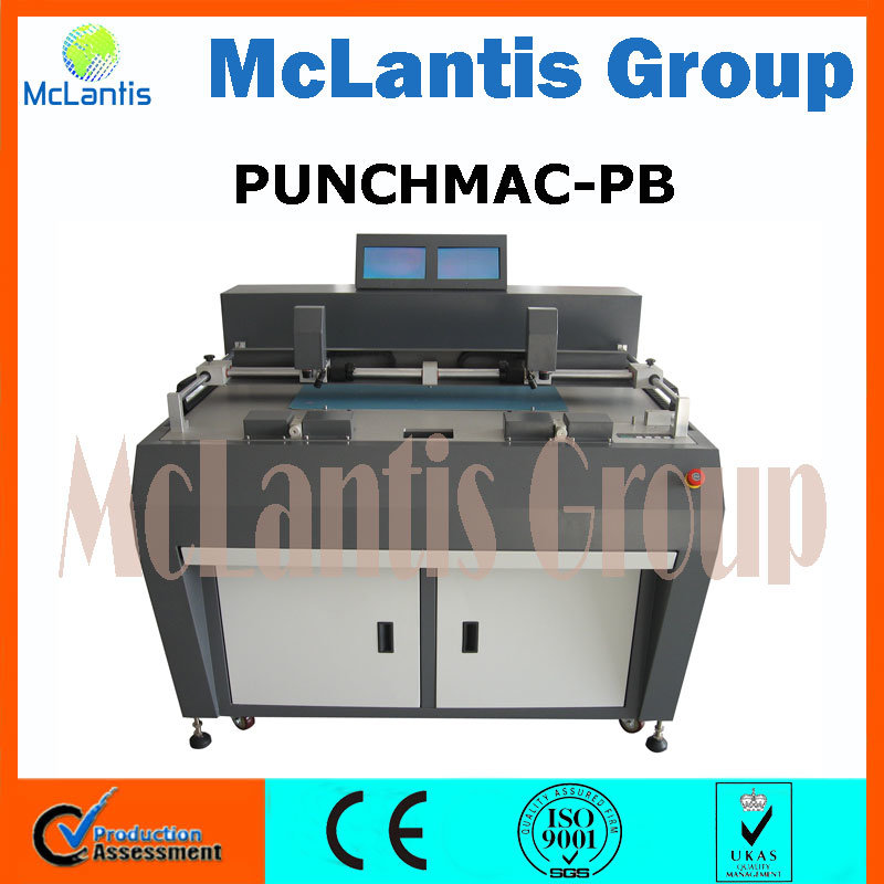 Pneumatic Video Plate Punch for Offset Plate