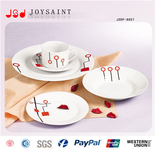 Porcelain Dinnerware Customized (JSDP-012)