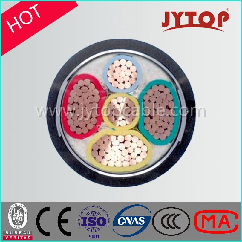 0.6/1kv XLPE Insulation Steel Tape Armoured PVC Sheath Power Copper Cable