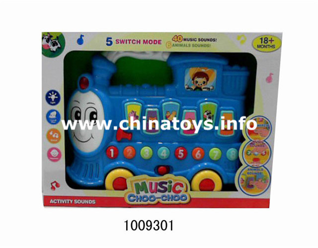 Promotional Battery Operated Train with Light&Music (1009301)