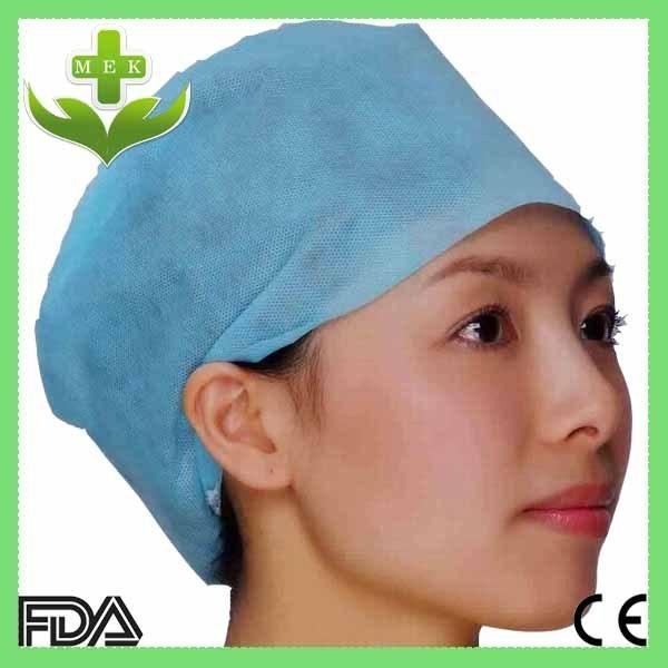 Surgical Disposable Non Woven Doctor Cap