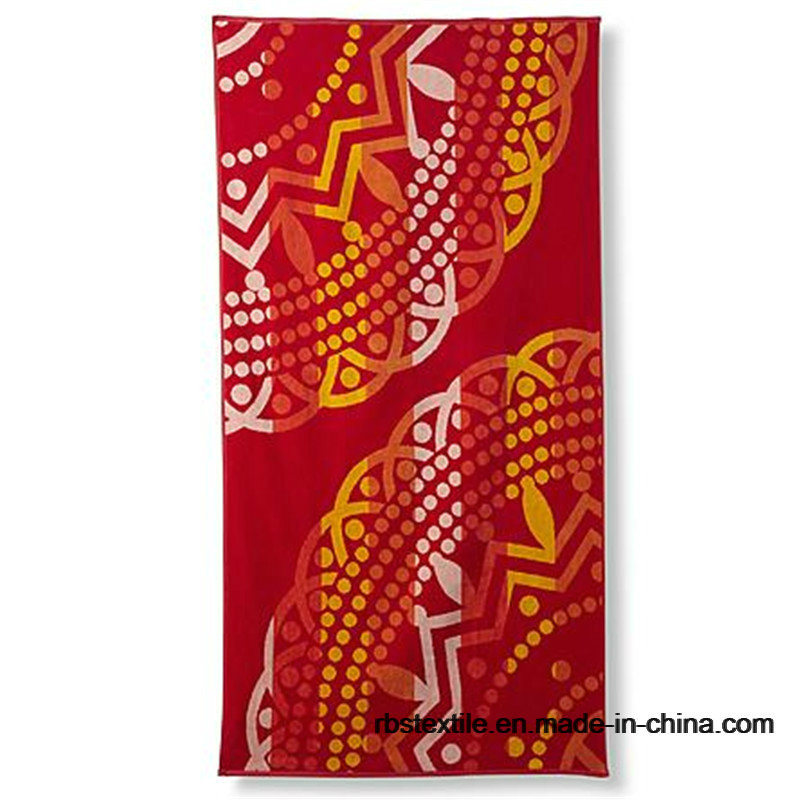 Competitive Printing Velour Bath Towel Beach Towel