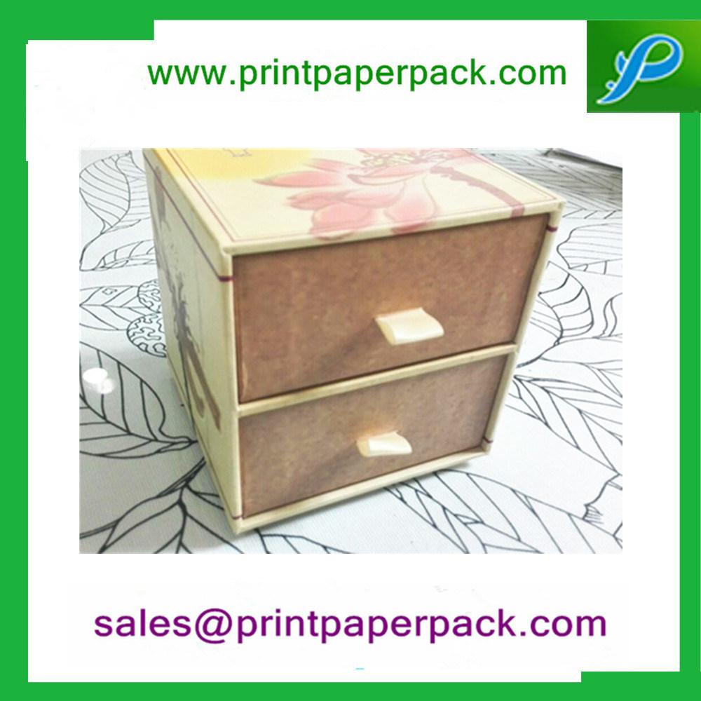 Custom Cardboard Drawer Gift Box & Bag Storage Jewelry Box Cosmetic Jewellery Box Gift Packaging Box