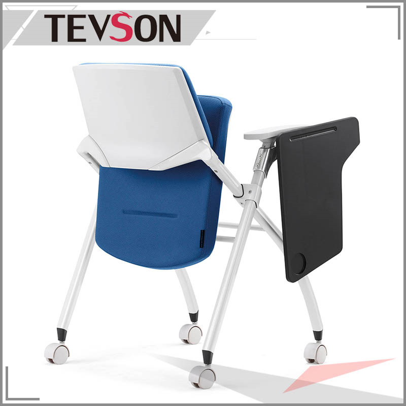 Folded Training Chair with Tablet