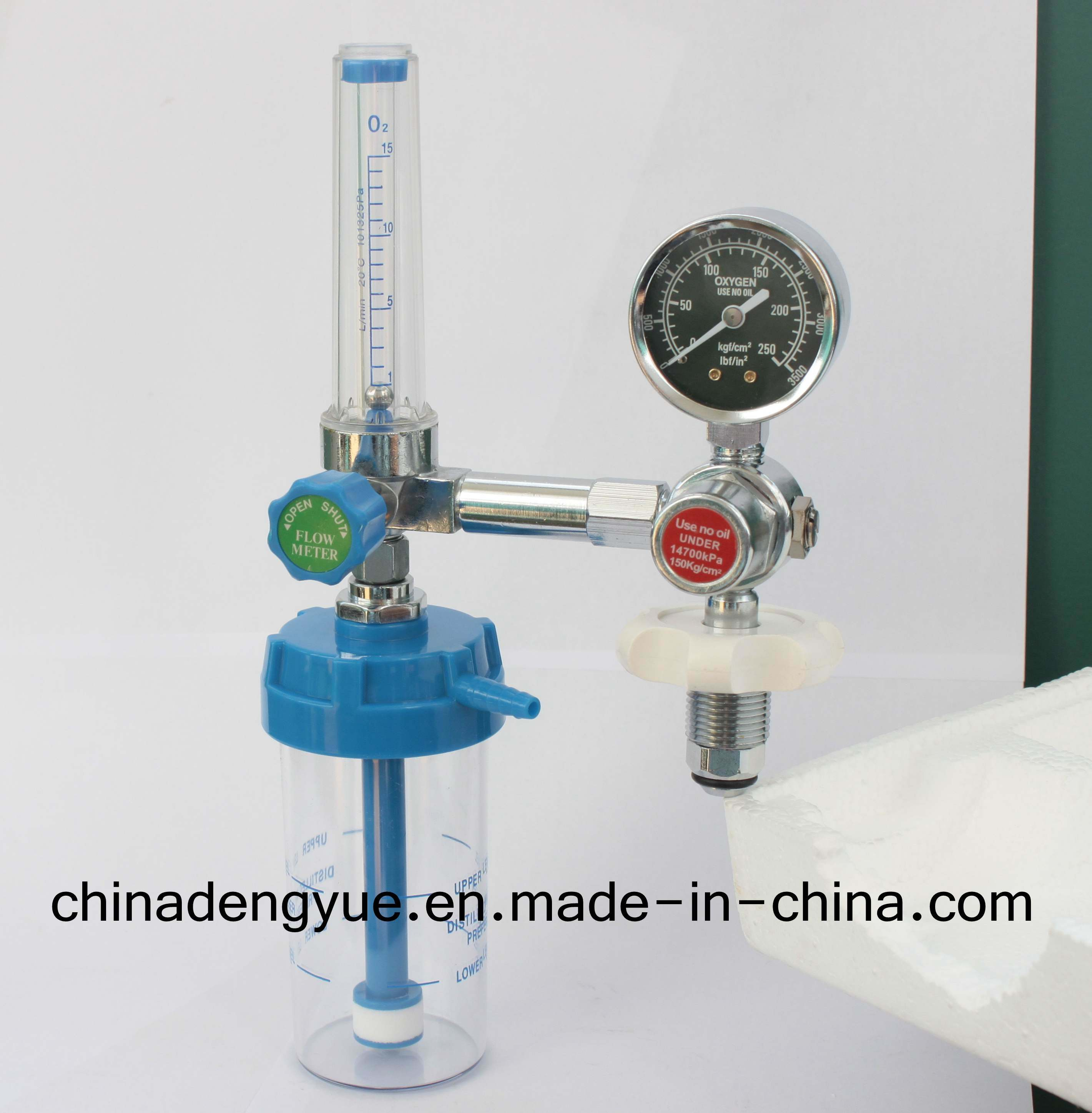 Approved Ce Hospital Medical Bull Nose Oxygen Regulator