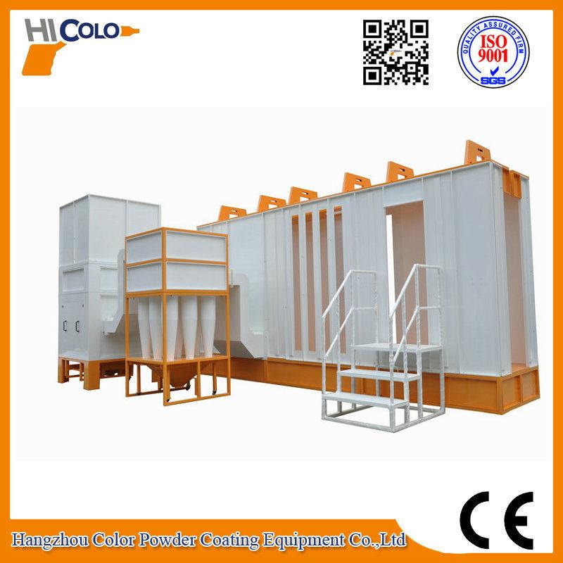Mono Cyclone Cabina De Pintura Powder Painting Booth Factory