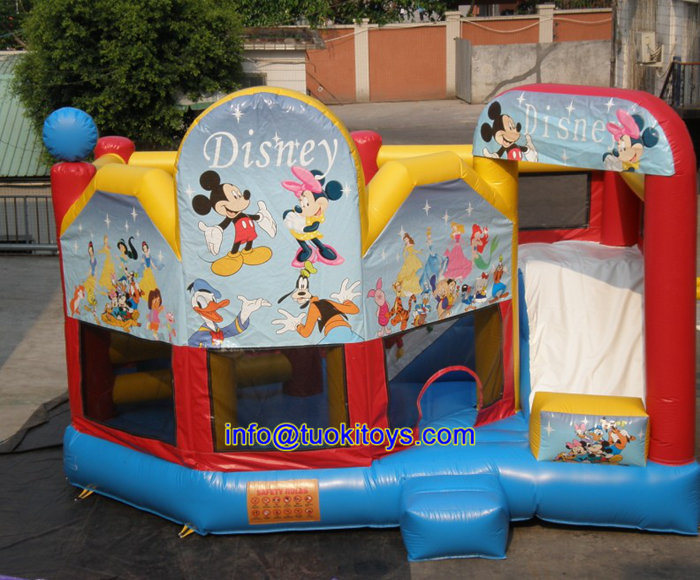 Inflatable Jumping Castle for Kids Game (B092)