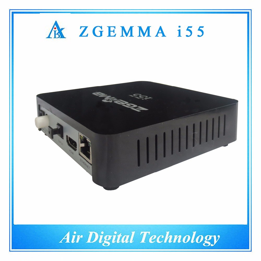 Air Digital Technology IPTV Box Zgemma I55 Powerful CPU Linux OS WiFi Stalker Media Player