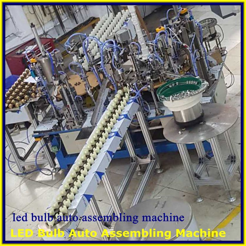 LED Lights Auto Assembling Machine