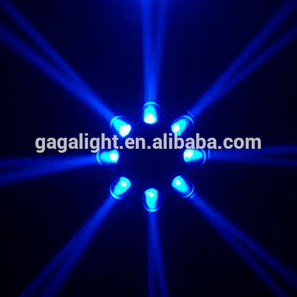 LED Eight Octopus UFO Disco Light for DJ Bar KTV Party Wedding Lighting