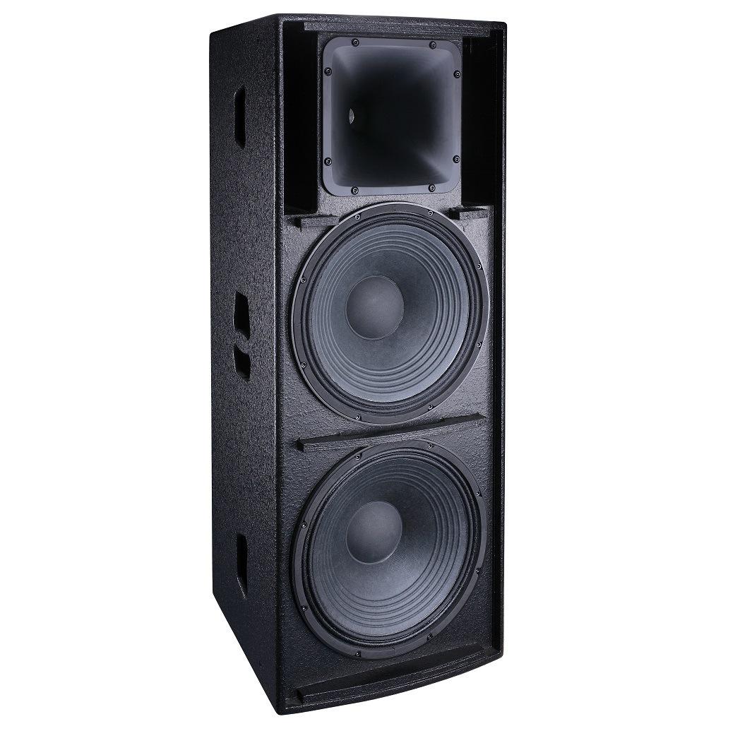 Full Range Loudspeaker System Dual 15 Inch Speaker