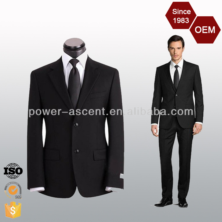 2016 OEM Wholesale Custom Design Classic Fit Men′s Formal Business Suits