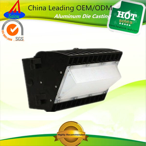 SGS Approved Aluminum Alloy Wall Pack LED Housing