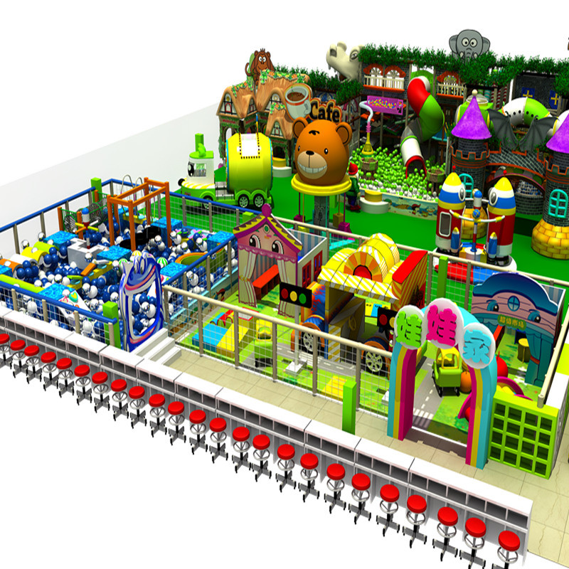 Shopping Center Promotional Children Indoor Playground