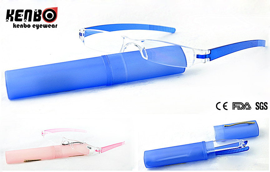 Hot Sale Pen-Case Reading Glasses, CE, FDA Kr5158