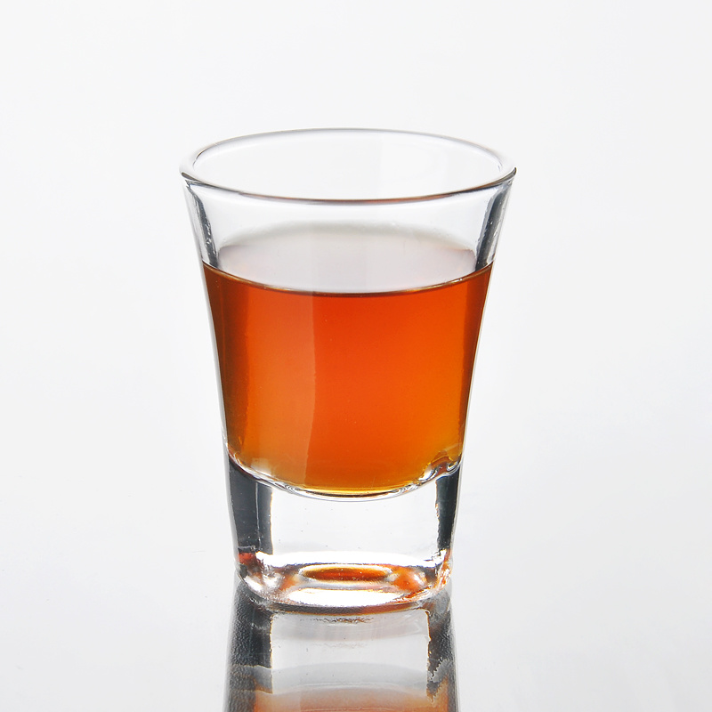 60ml Clear Small Whisky Glass