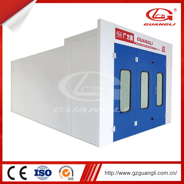 Ce Approved Basic and Economic Product Series Car Spray Paint Booth with Moveble Infrared Light