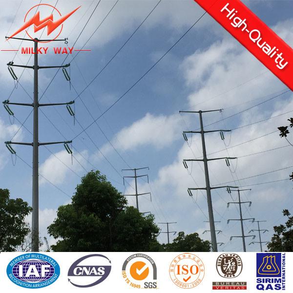 40FT Nea Galvanized Steel Power Pole
