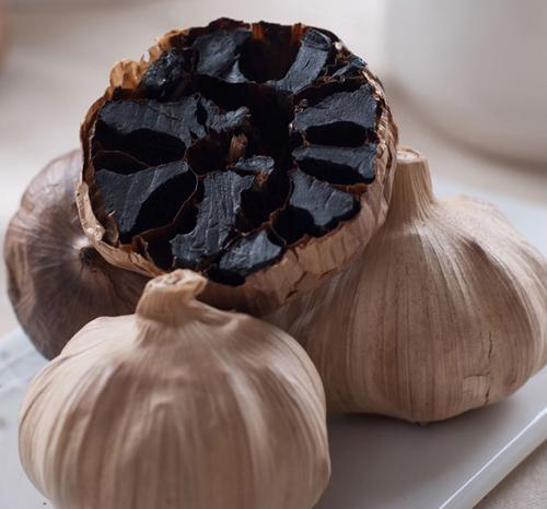 Good Quality Whole Black Garlic From Fermented Garlic