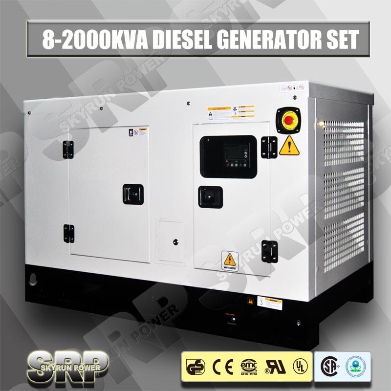 10kVA silent Diesel Generating Generator Set Powered by Perkins Engine