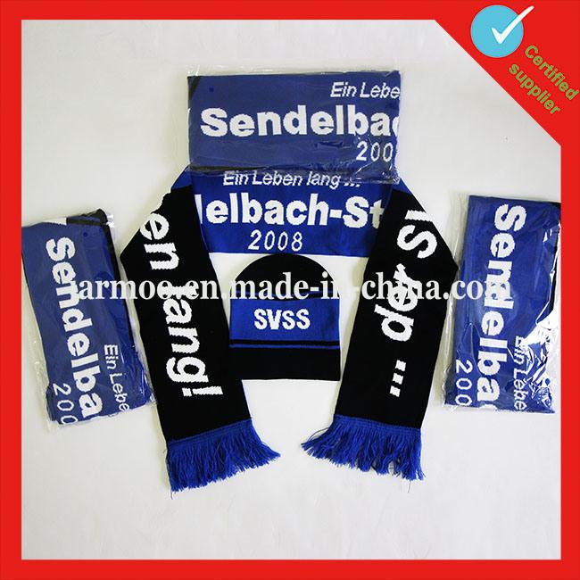 Jacquard Sports Scarf Football Team Scarf