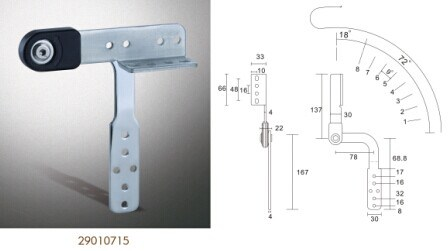 Sofa Fittings, Sofa Headrest Hinge, Sofa Hinge (29010715)