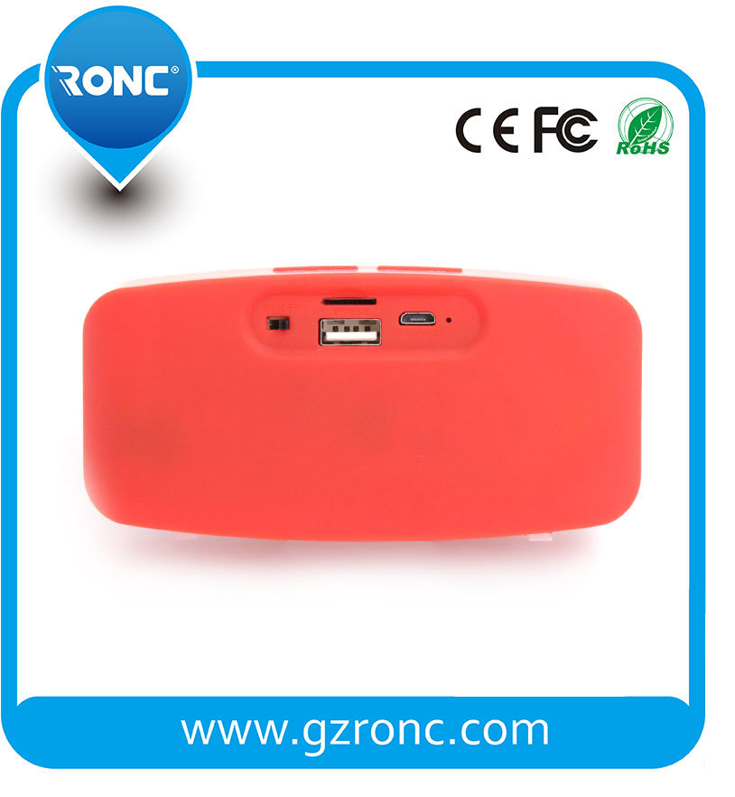 Factory Wholesale Portable Mini Bluetooth Speaker for Smartphone