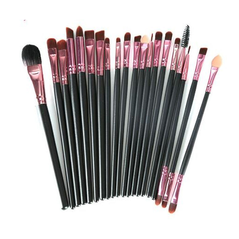 Makeup 20PCS Synthetic Hair Eye Shadow Brushes