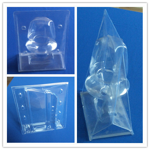 PVC Stand Blister Packing Box Stand Clamshell Box for Faucet