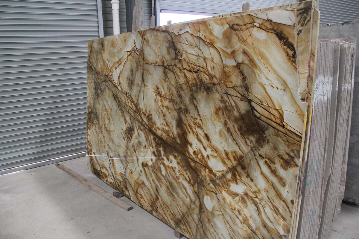 Various Marble/Onyx/Travertine/Limestone/Granite/Slate Tile and Slab for Wall Panel/Facade