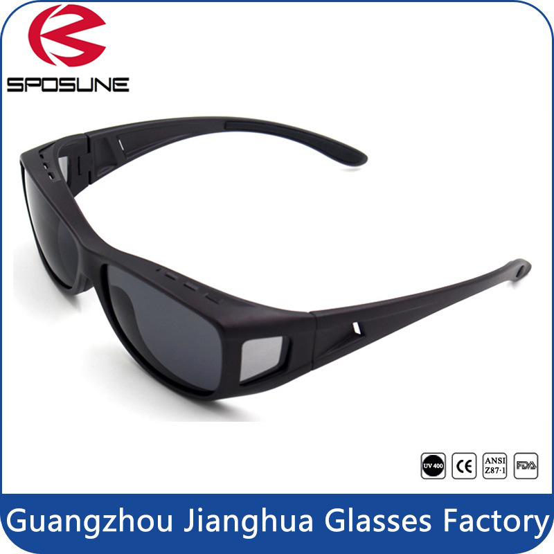Factory Dropshipping OEM Polarized Fitover Glasses Fishing Sunglasses