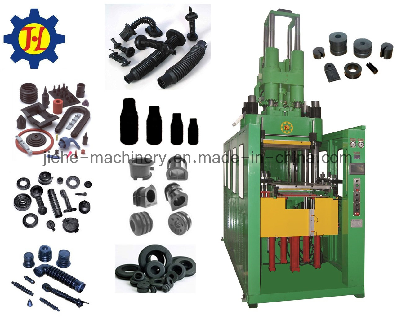 Vertical Type Rubber Bellows Injection Moulding Vulcanizing Machine