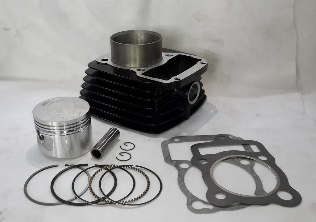 Motorcycle Cylinder Block, Engine Block, Cg150 Titan, Ft150, Vc150 Gilera Zanella, (CG150 Black)