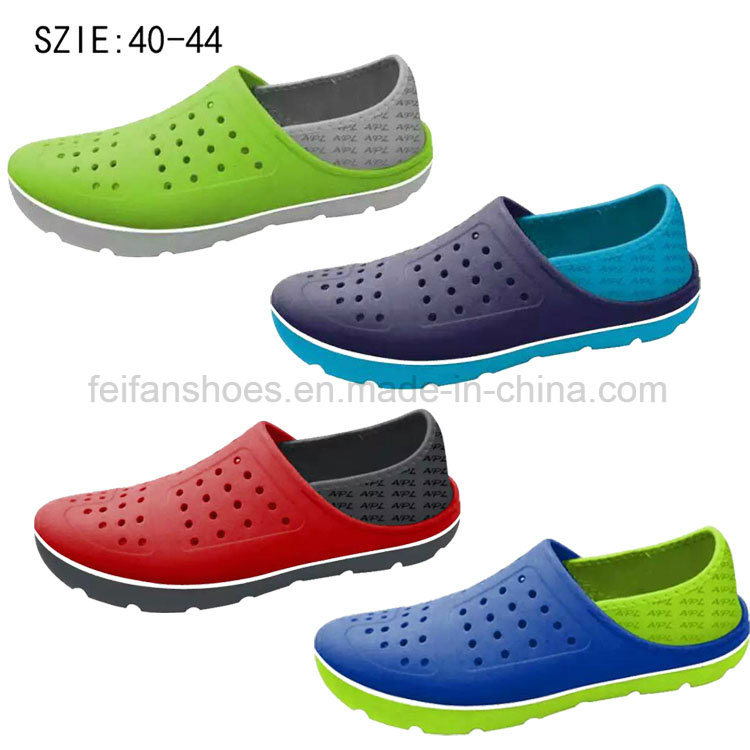 2016 New Style Men′s EVA Garden Shoes Evea Slipper (HK160624-1)